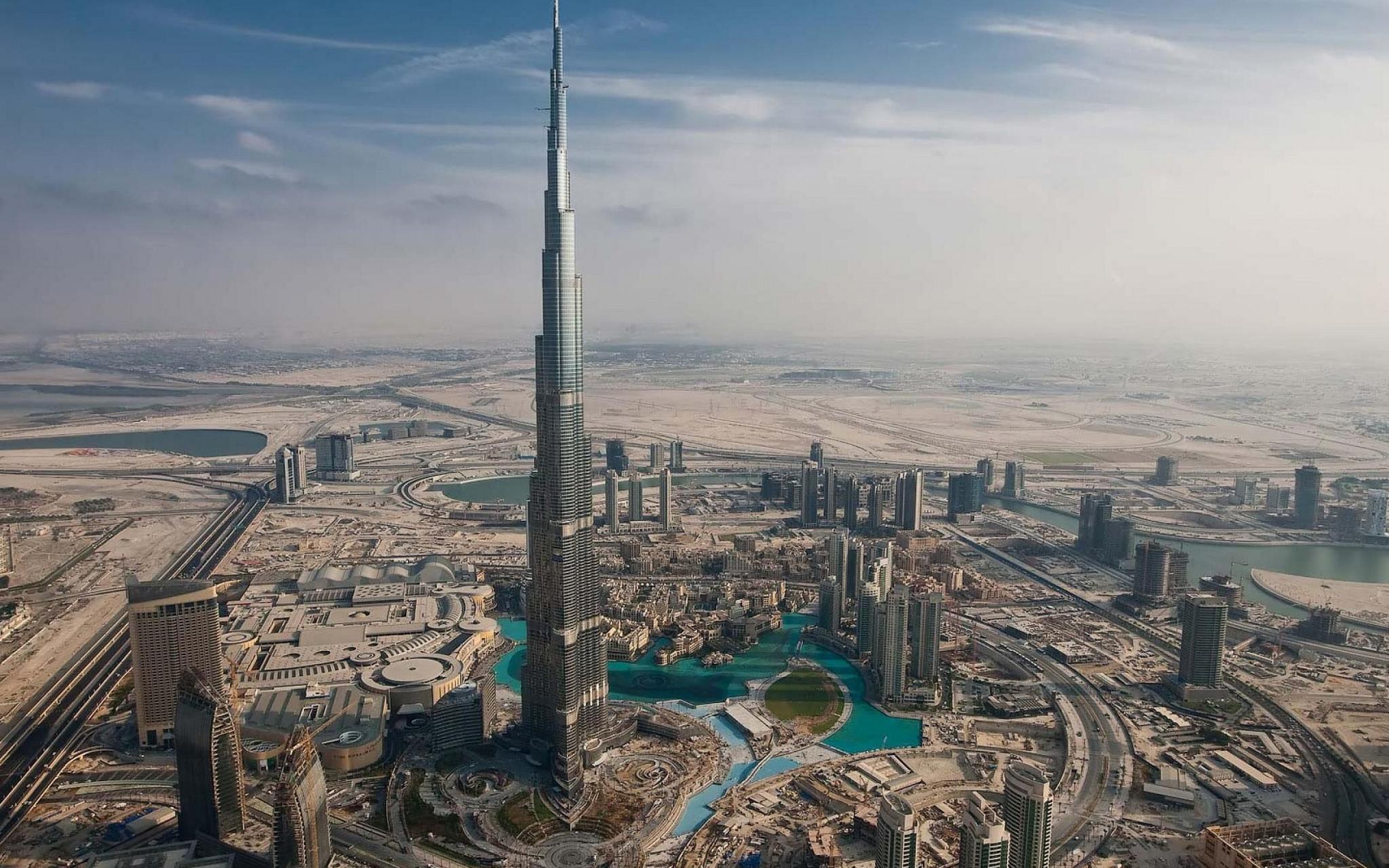 Burj Khalifa, l'actuelle tour la plus haute du monde