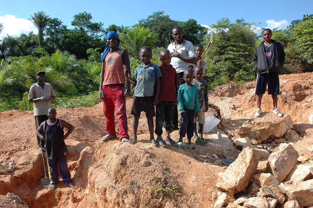 Travail des enfants au Congo