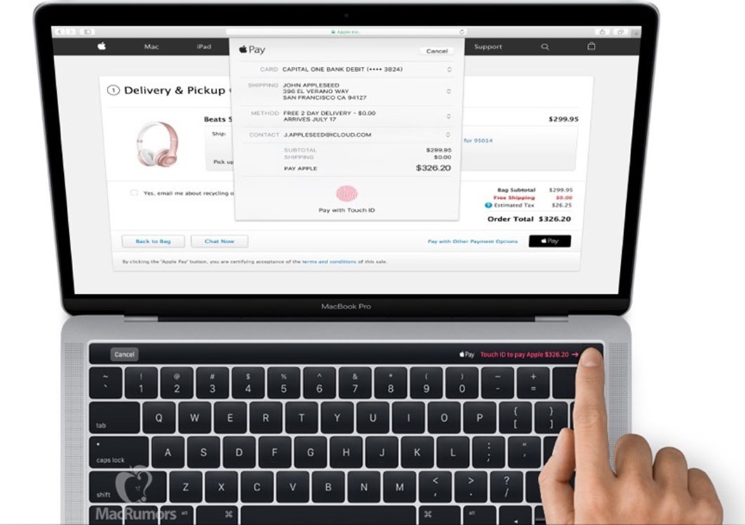 La barre OLED et son ID Touch