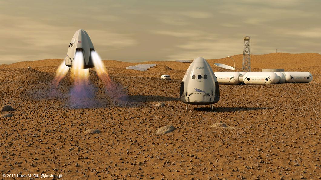 Capsule Dragon Space X