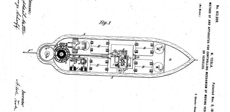 brevet-de-tesla-drone