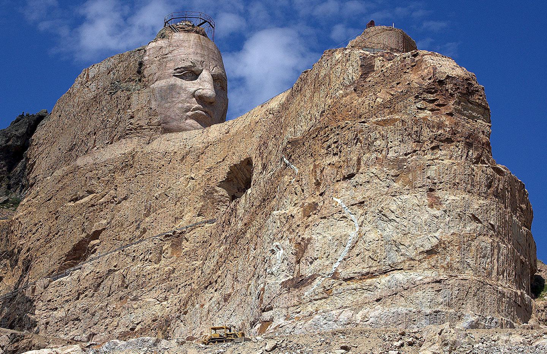Le mémorial Crazy Horse © FlickR / Jim Bowen