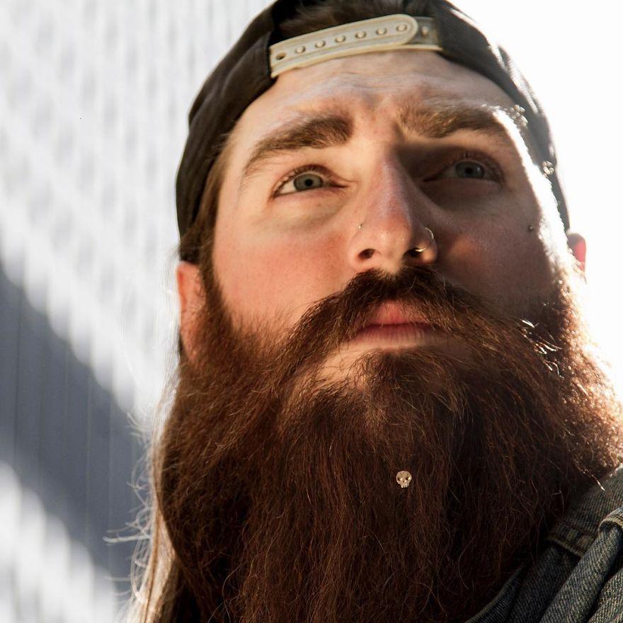 Bijou pour barbe