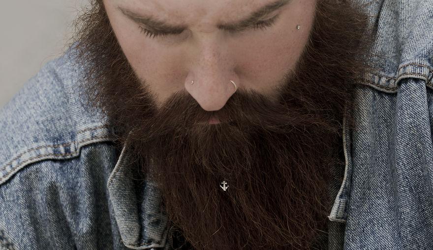 Bijou pour barbe de la marque Krato Milano