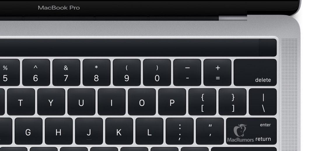 La nouvelle barre OLED tactile située au-dessus du clavier