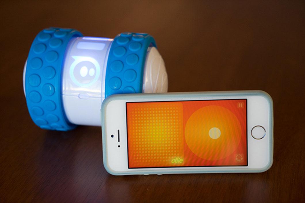 Le module Ollie et son interface sur smartphone
