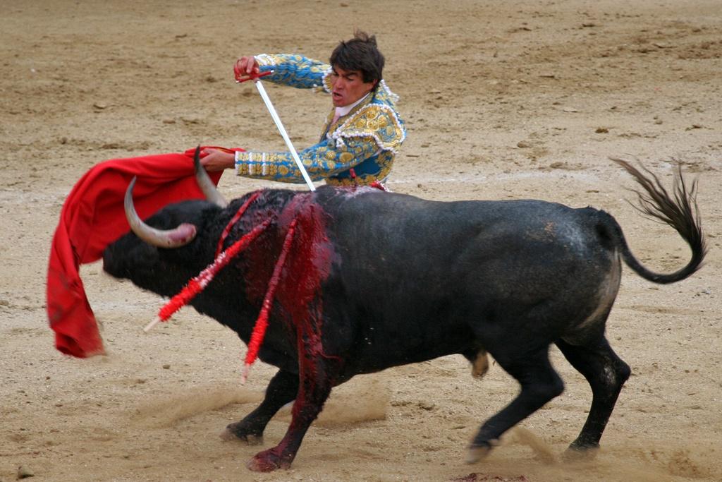 © Wikipédia - scène de corrida