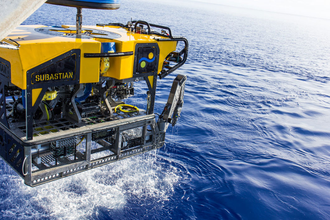 Module d'exploration sous-marine ROV SuBastian