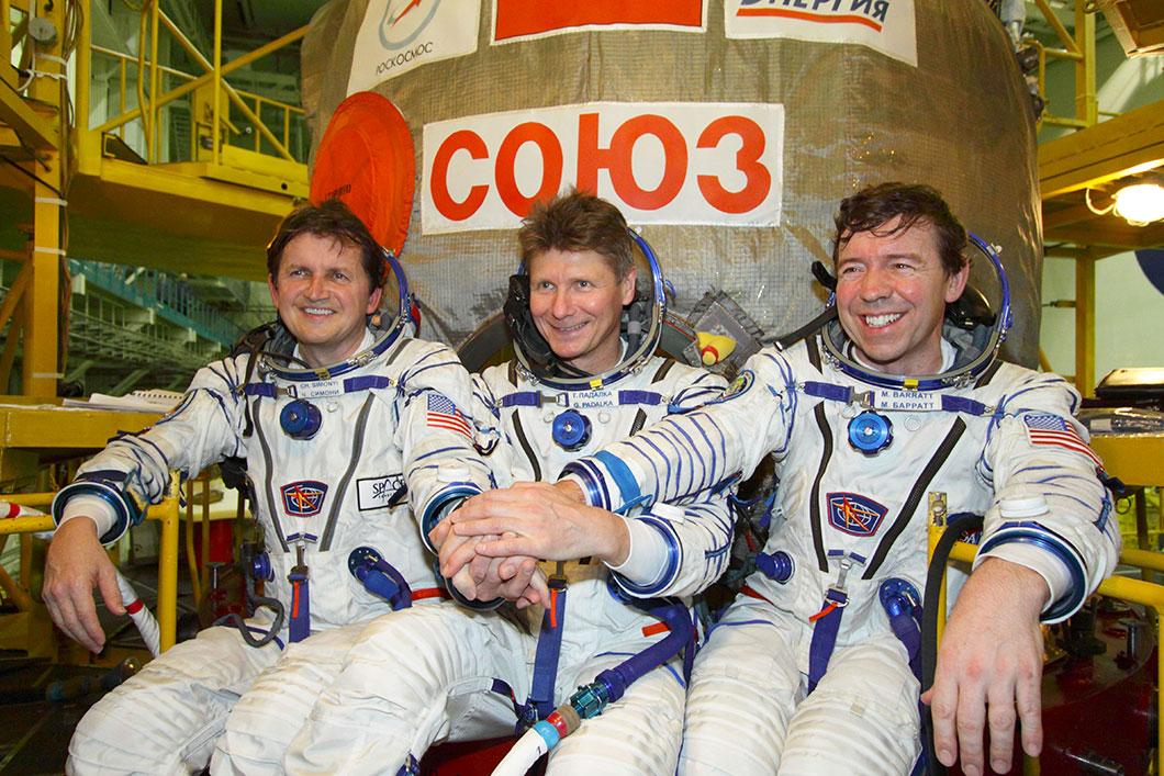 Charles Simonyi (à gauche) est le fondateur de Word, il a effectué deux voyages dans l'espace.