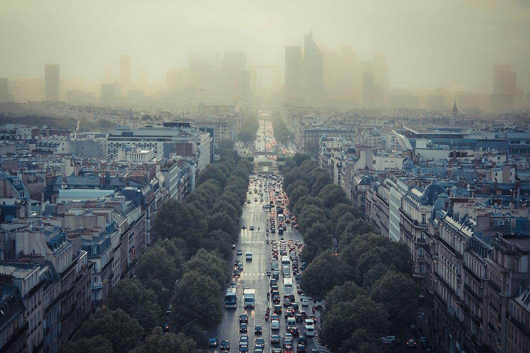 Paris sous la pollution © FlickR / Damián Bakarcic