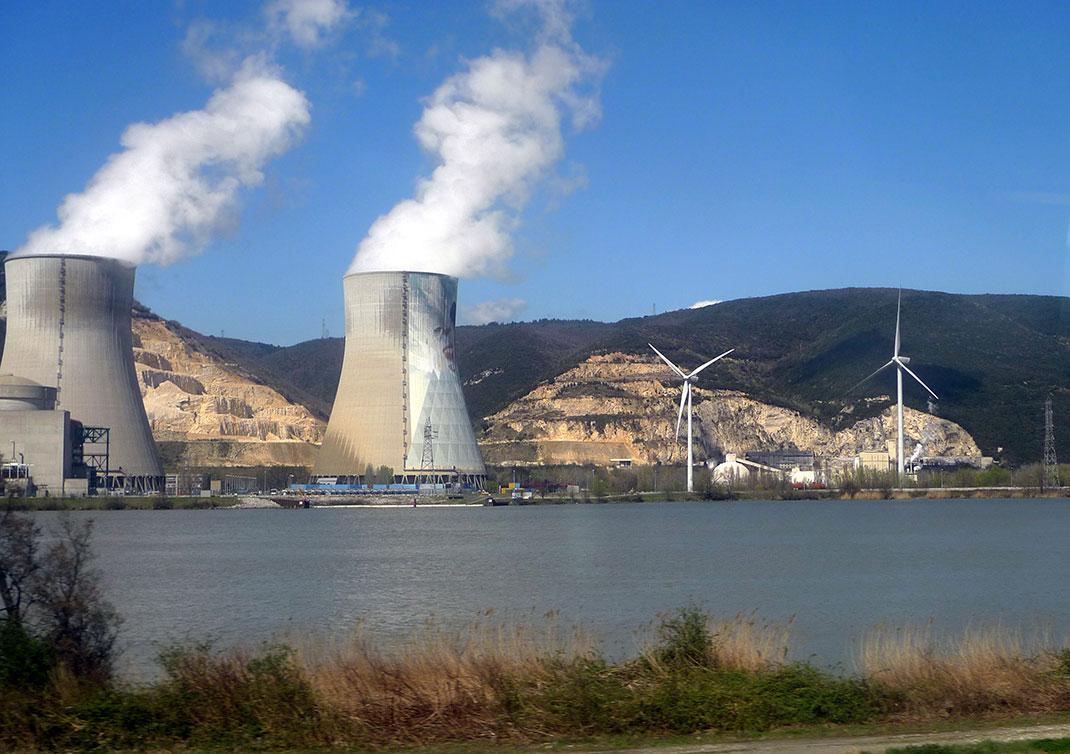 Site Nucléaire de Cruas (Rhône)