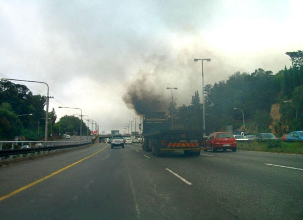 La circulation automobile est en grande partie responsable de la pollution atmosphérique