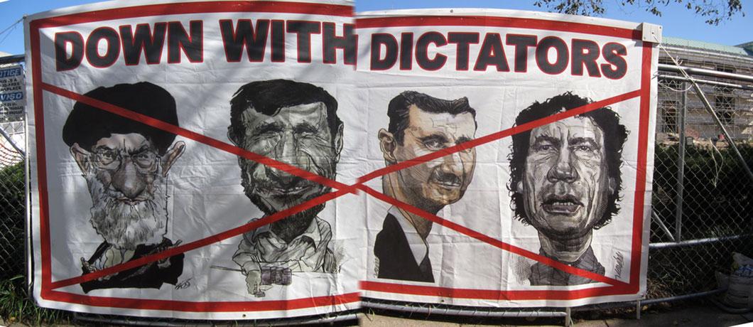 Les pays arabes souhaitent en finir avec les régimes autoritaires