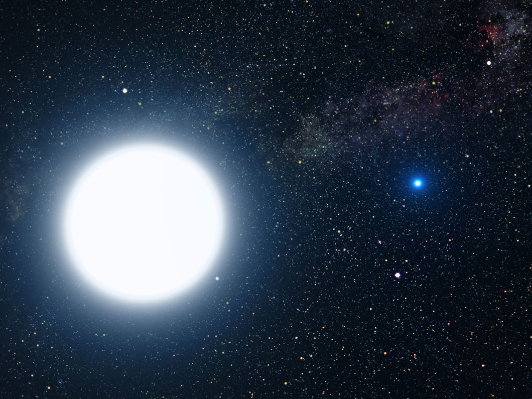 Une naine blanche en orbite autour de Sirius