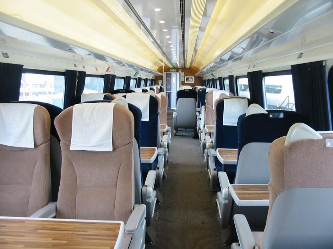 Les passagers de 1ère classe auront un accès privilégié à la wifi