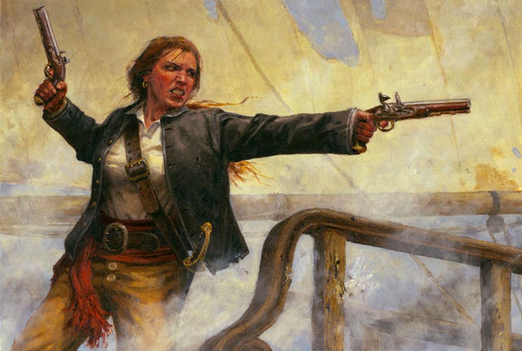 La pirate Anne Bonny