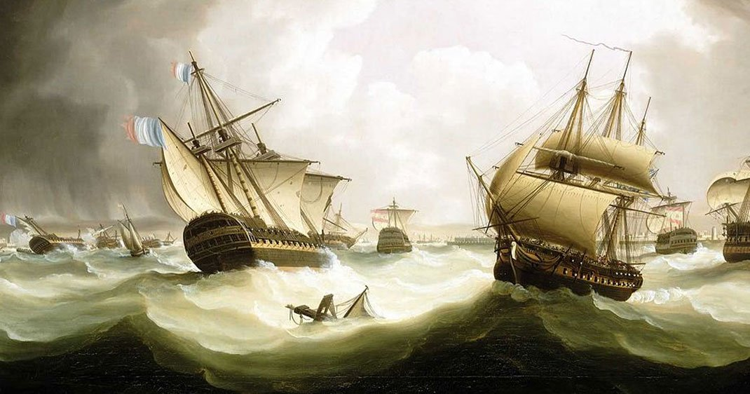 Voici comment ce navire français perdu dans les fonds marins depuis 200 ans a été découvert ! Par Justine Manchuelle                                Bateau-retrouve-simulation-une