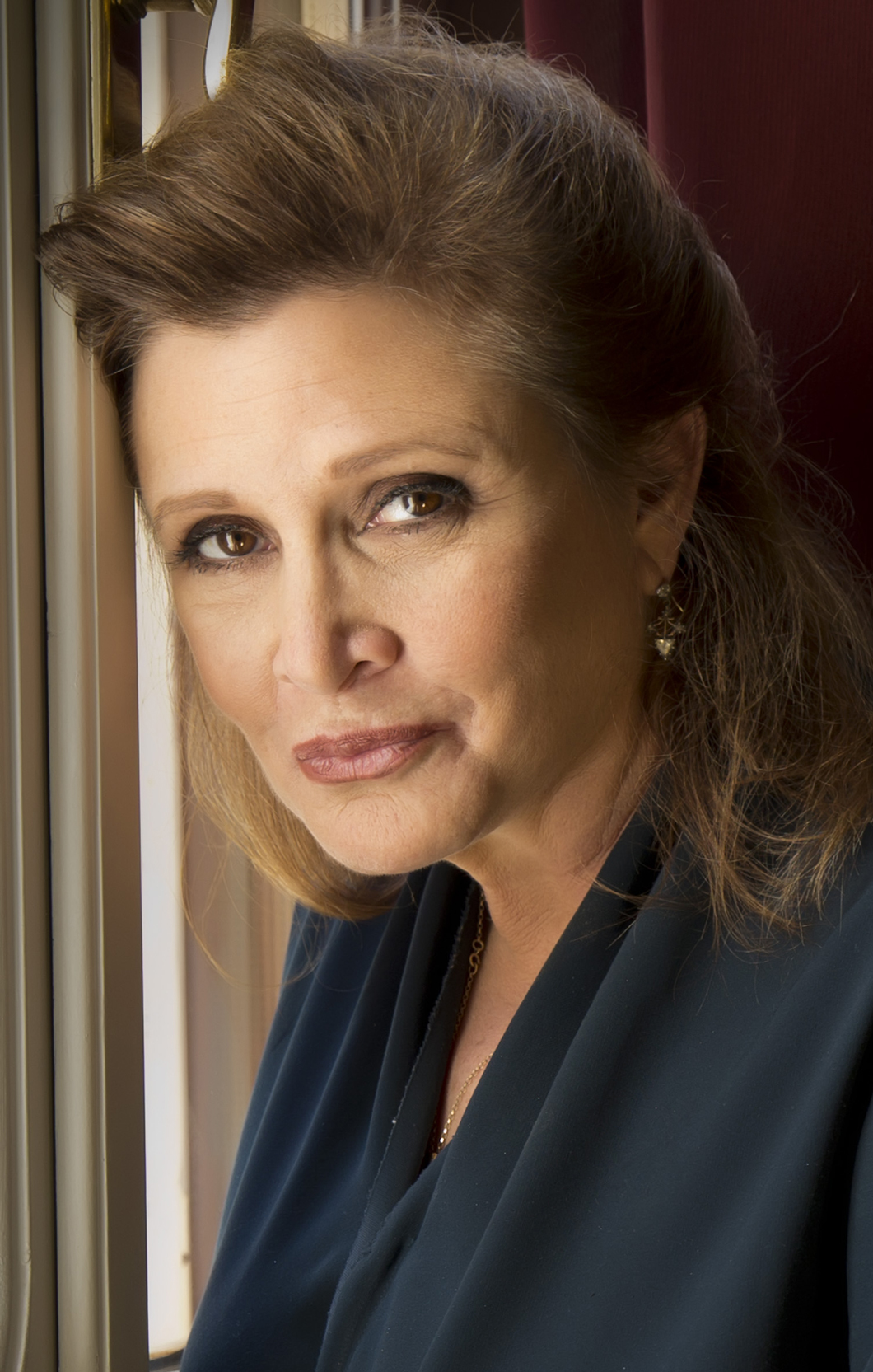 Un portrait de Carrie Fisher