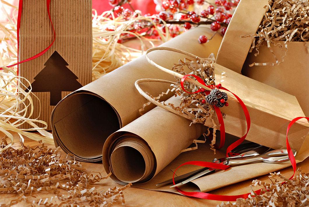 Des emballages en carton via Shutterstock