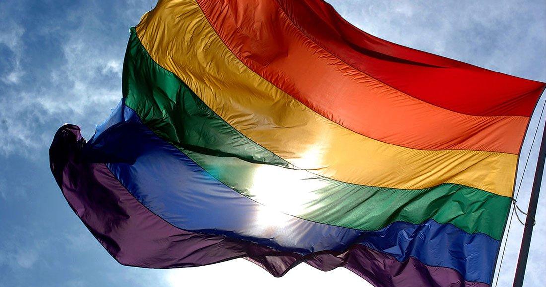 une-LGBT-drapeau