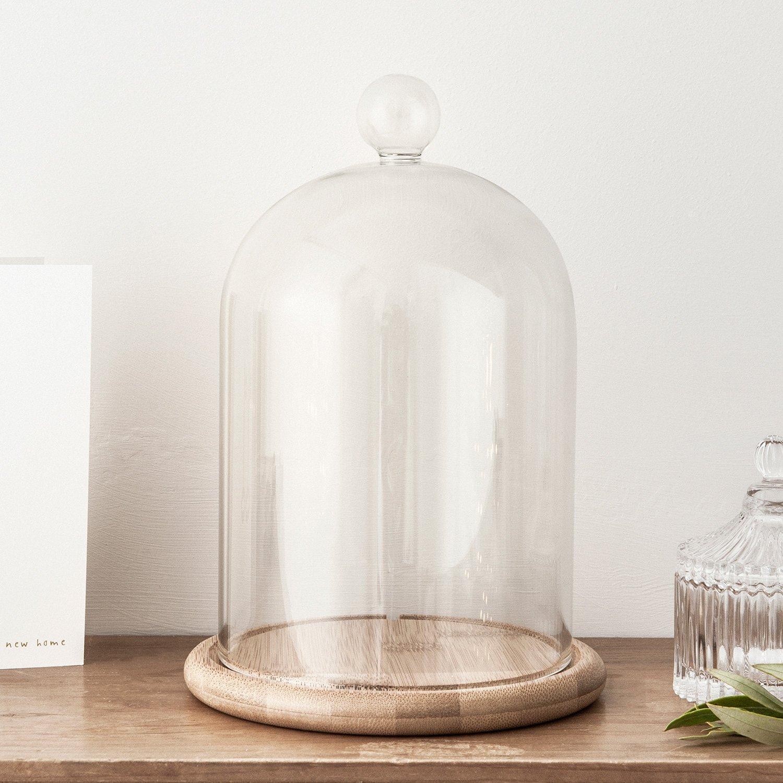 Recouverte d une cloche en verre cette lampe va sublimer votre