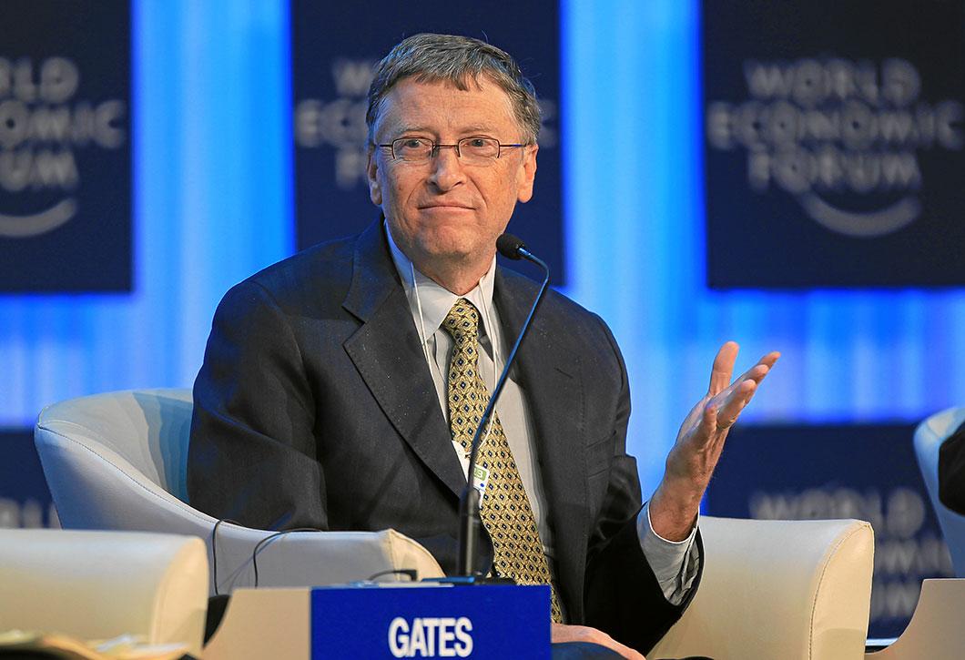 Bill Gates, 1ère fortune du monde