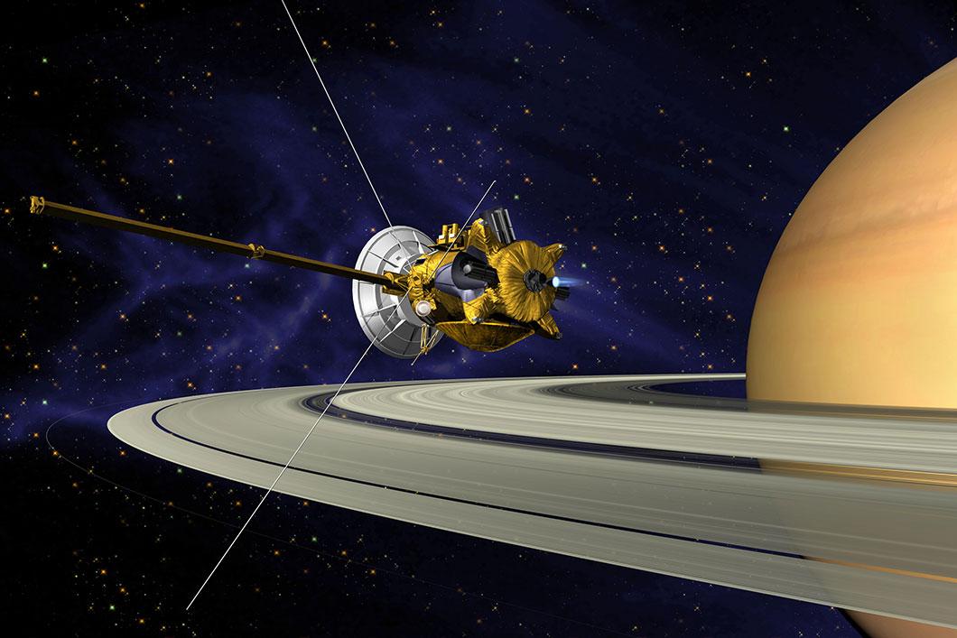 Cassini-Saturne