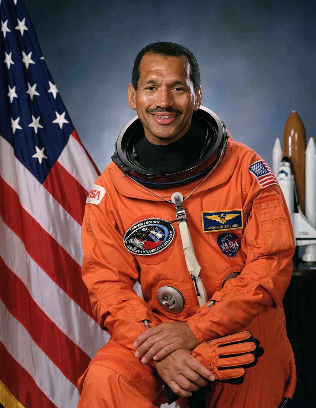 Charles Bolden, nommé par le président Barack Obama, est devenu le patron de l'agence spatiale