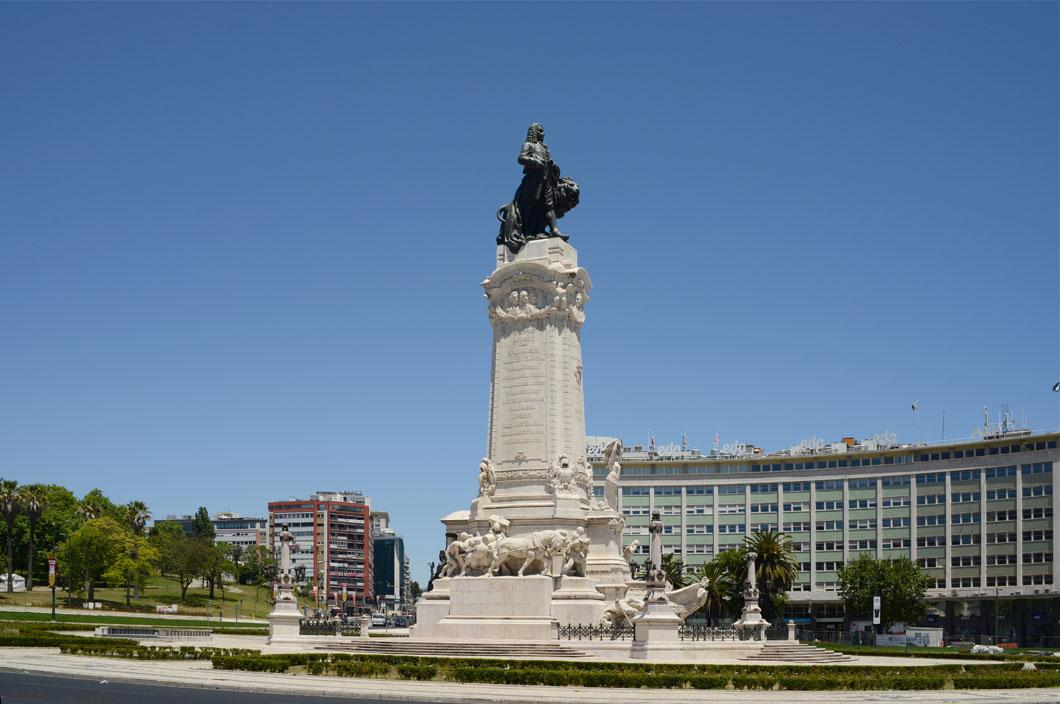 Monument au Marquis de Pombal, Lisbonne