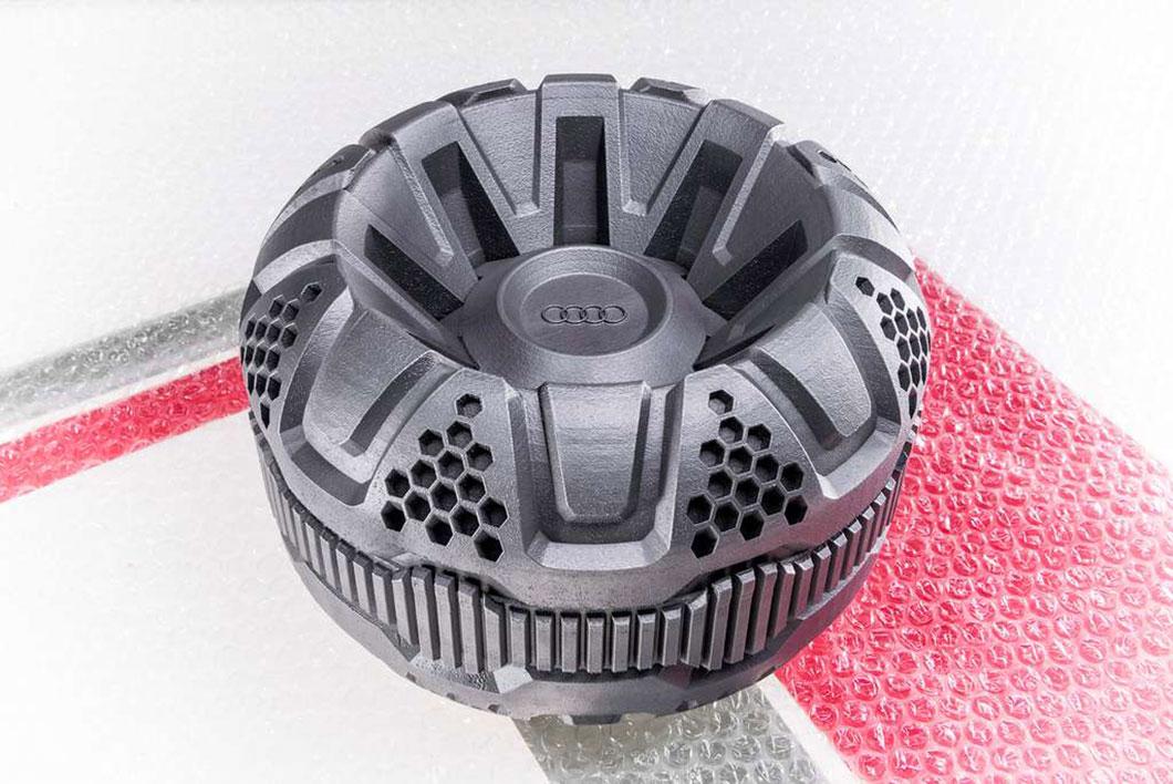 Ces roues de forme inédite seront imprimées en 3D