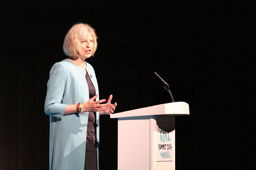 Theresa May, premier ministre du Royaume-Uni