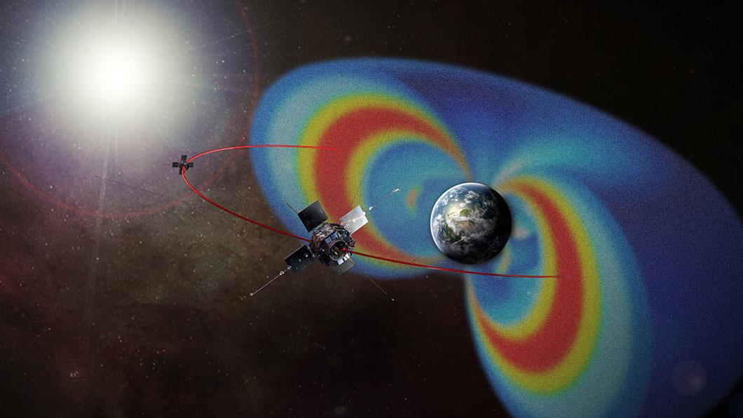 La ceinture de radiations de Van Allen a été découverte lors de la mission Explorer 1
