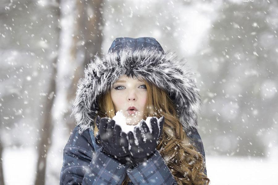 froid-femme-neige
