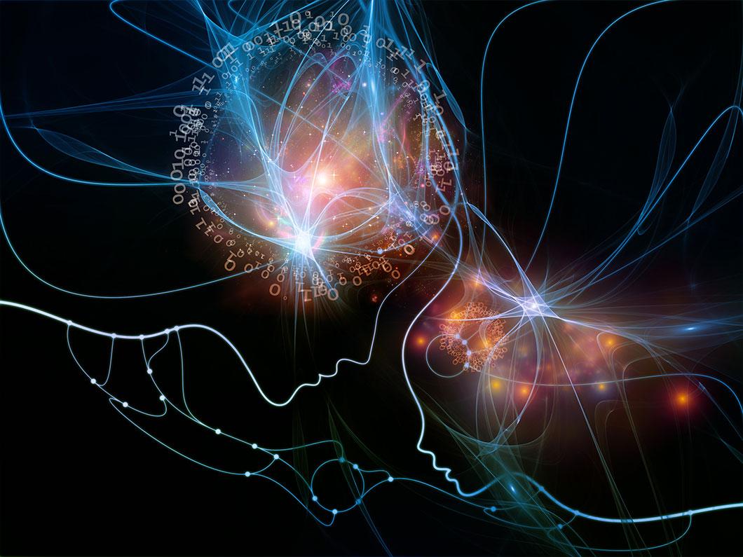 Deux intelligences artificielles via Despositphotos