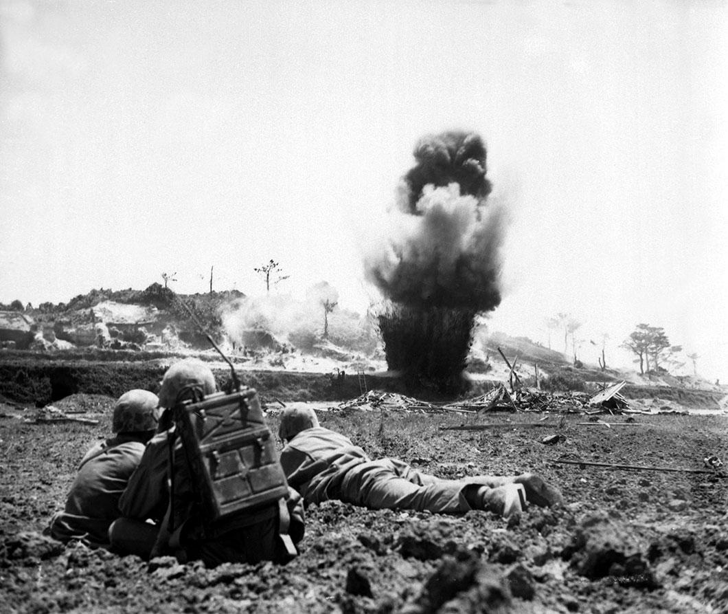 La bataille d'Okinawa