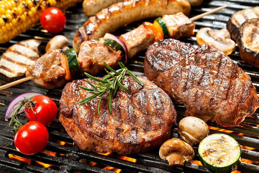De la viande via Depositphotos