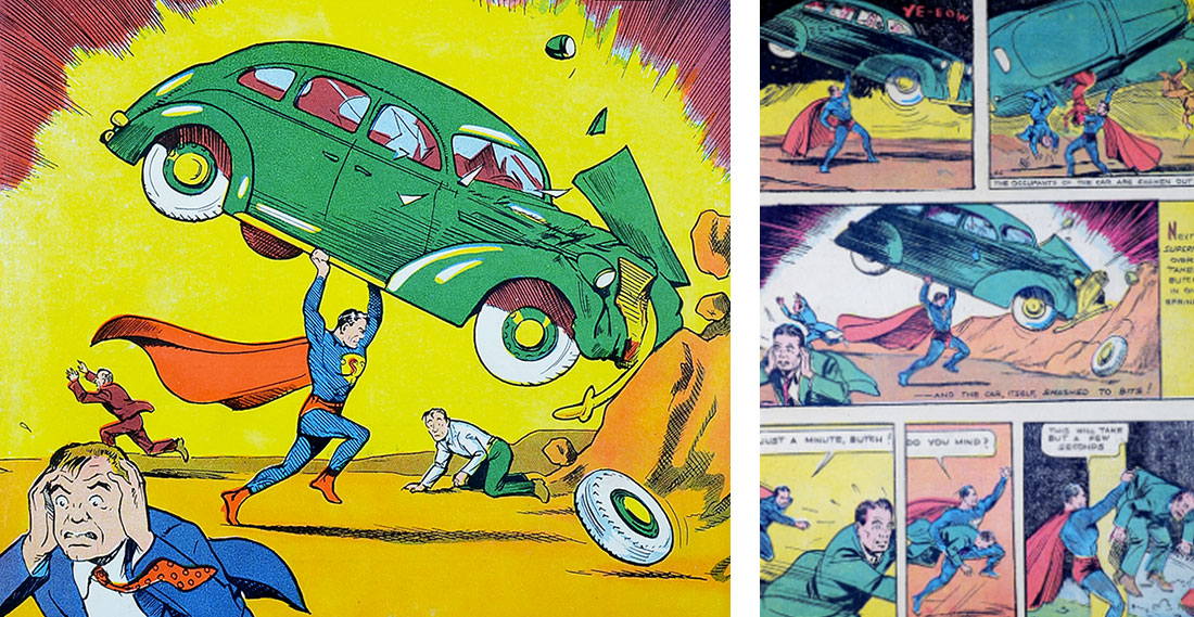 action-comics-n1-comparaison