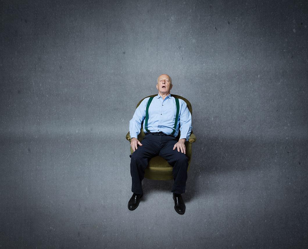 Un homme paralysé via Depositphotos