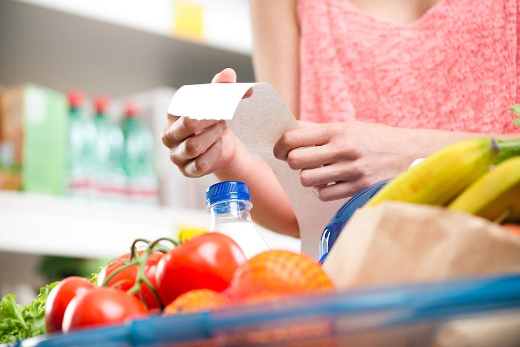 Les ventes en supermarché reculent via Depositphotos