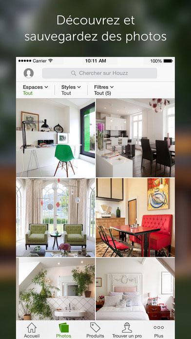d coration ou recherche d un professionnel cette appli vous aide transformer votre int rieur. Black Bedroom Furniture Sets. Home Design Ideas