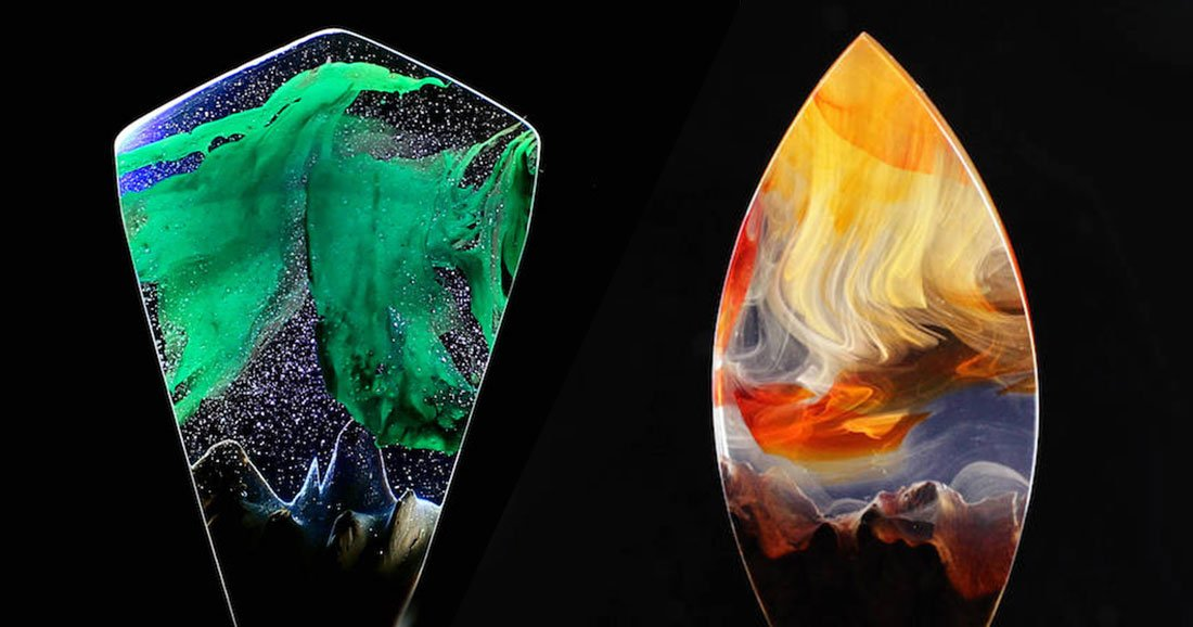 Ces bijoux en r sine sont tout simplement magnifiques daily geek show - Bijoux en resine ...