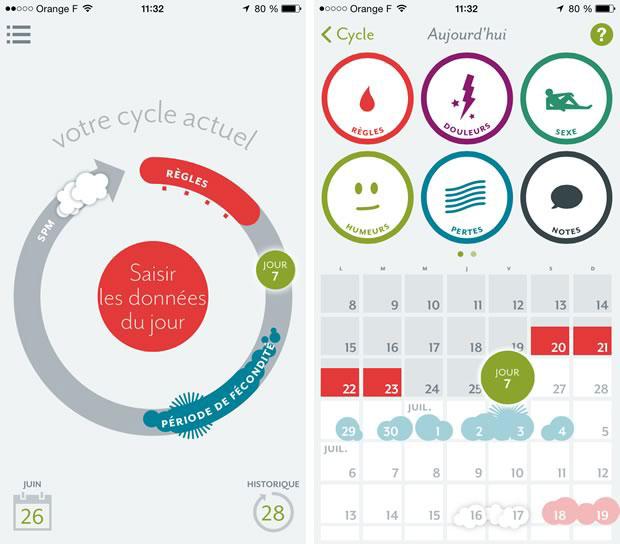 cycle menstruel. Black Bedroom Furniture Sets. Home Design Ideas