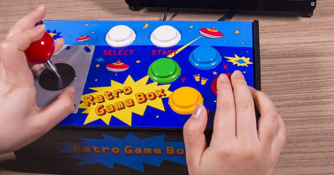 Construisez votre propre joystick d arcade et jouez vos for Construisez votre propre plan