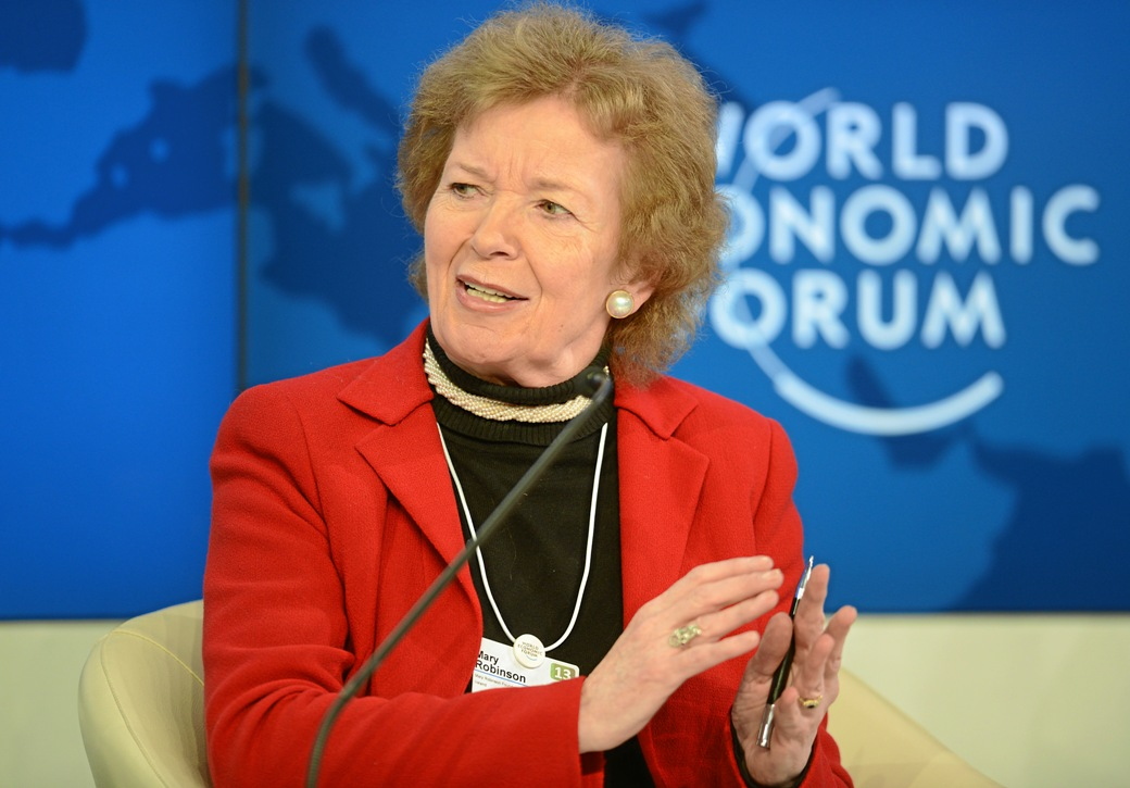 The Moral Economy: From Social Contract to Social Covenant: Mary Robinson