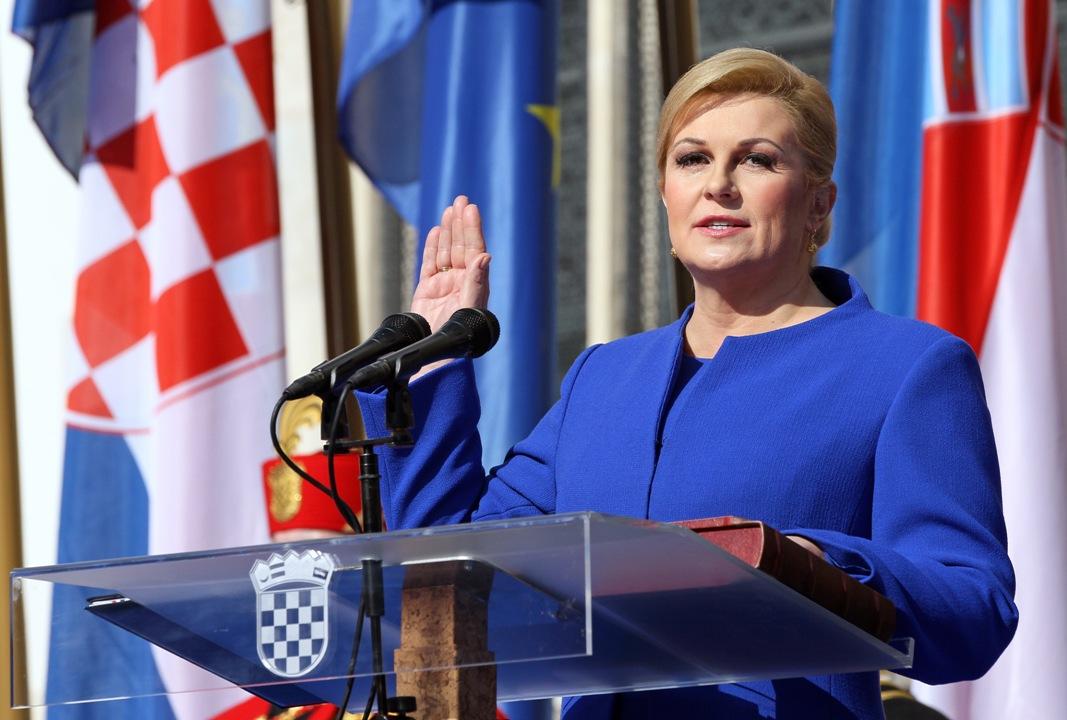 Kolinda Grabar Kitarović prisegnula za predsjednicu RH