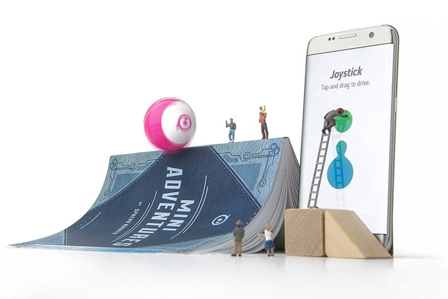 jouez programmez et riez avec sphero mini le petit robot intelligent. Black Bedroom Furniture Sets. Home Design Ideas