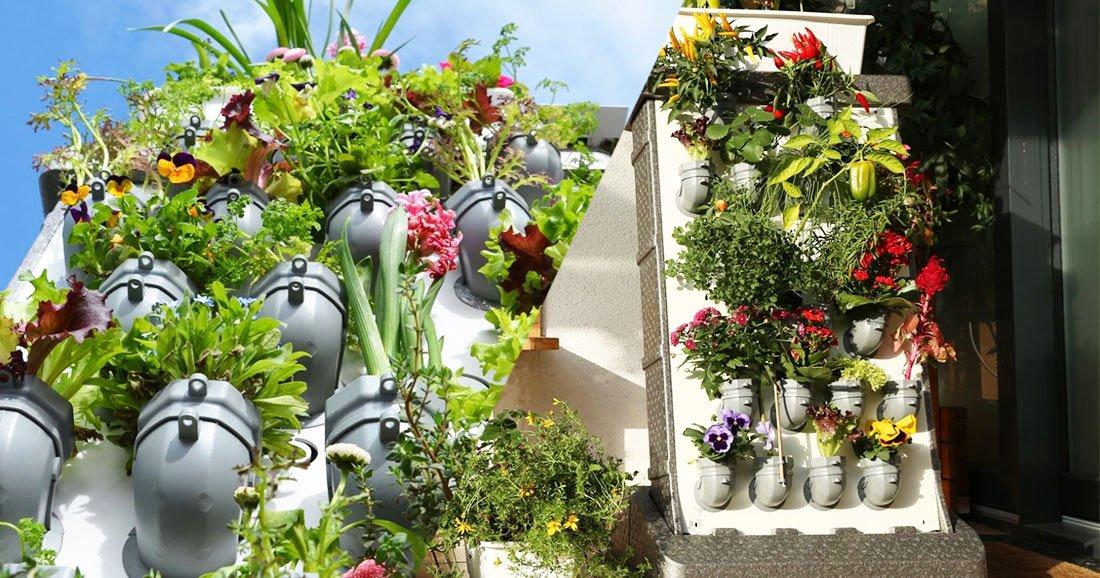 ce jardin vertical fera de votre balcon un v ritable havre de paix daily geek show. Black Bedroom Furniture Sets. Home Design Ideas
