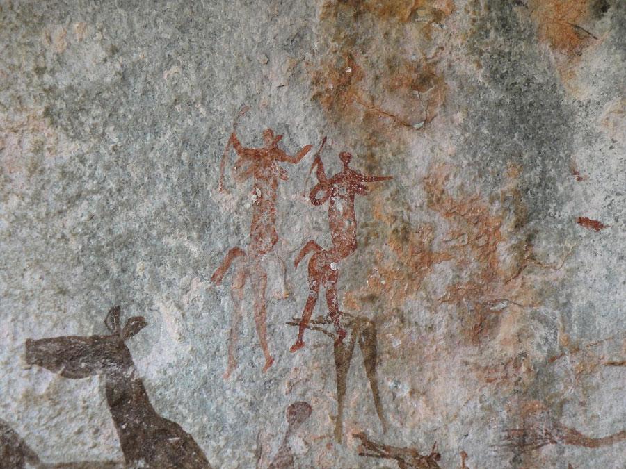 Les plus vieilles peintures rupestres jamais découvertes n'ont pas été réalisées par notre espèce !              Peinture-prehistorique-afrique