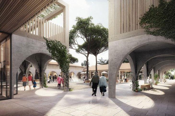 Le futur village Alzheimer sur la commune de Dax