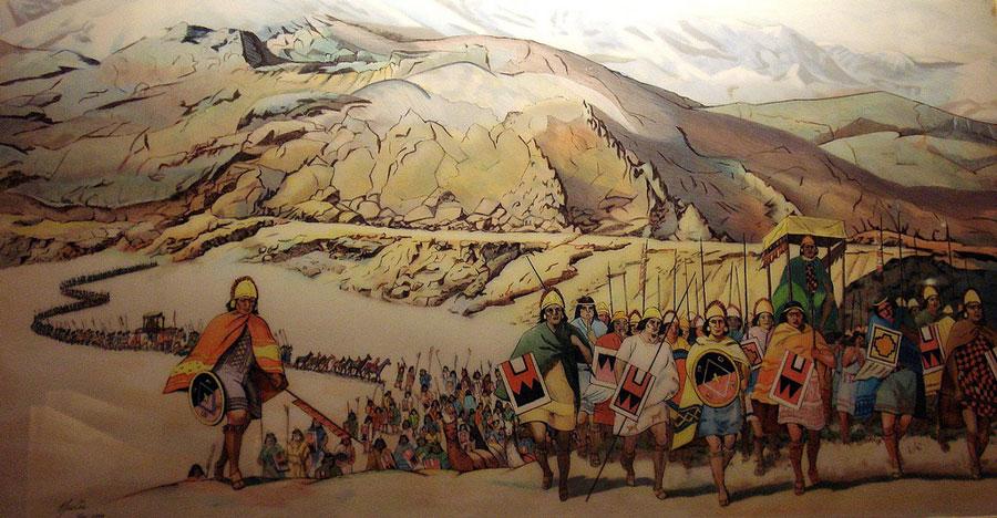 Des scientifiques sont parvenus à remonter aux origines de la fascinante civilisation inca ! Par Justine Manchuelle                       Incas-armee